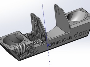 super fan duct for ultimaker -- delicious clam