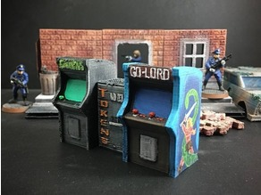 Arcade Cabinets (28mm/Heroic scale)