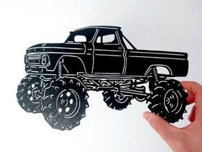 Offroad stencil