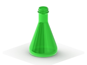 Flask with Soda Bottle Threads