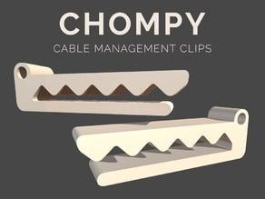 Chompy (Cable Management Clip)