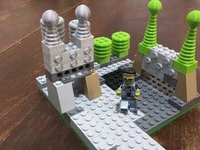 Lego Mad Scientist Lab Pieces