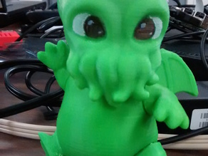 Poseable Baby Cthulhu