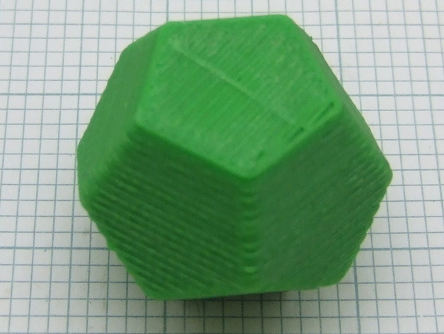 dodecahedron by nophead thingiverse