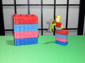 Danny LEGO Brick