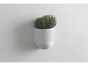 3D printed smart planter