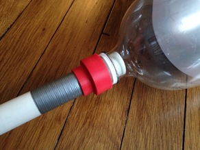 "2 Liter Bottle to 1/2"" PVC Pipe Adapter"