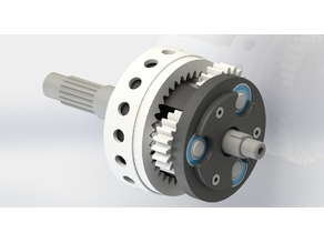 Planetary gearbox for Konchan77 turboprop