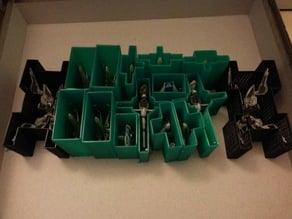 Star Wars X-Wing Miniatures Ship Storage