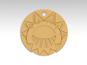 The Mysterious Cities of gold Medallion