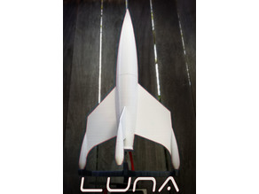 Luna (from Destination Moon) model rocket