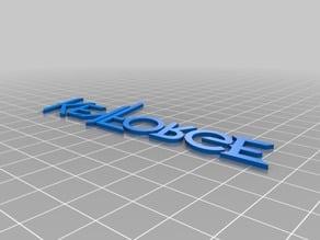 Keyforge Logo Letters