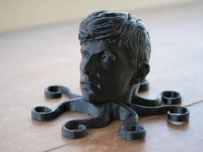 Obligatory 'Face-on-an-Animal-Magnet' Model