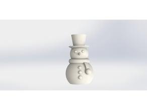 snowman Christmas Decoration simple