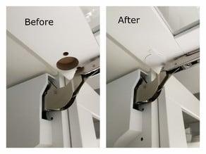 Ikea door hinge plugs