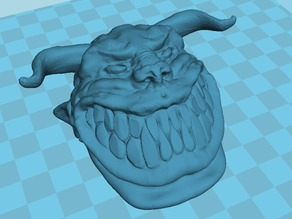 grinning Devil..