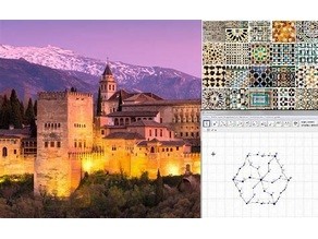 Mosaicos nazaríes de la Alhambra (Alhambra nasrid mosaics)