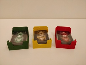 Item card holders for Nemesis Board Game