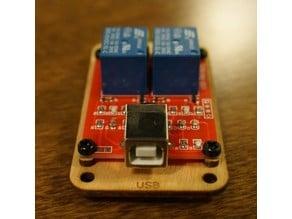 Laser Cut Bumper for 2 Channel USB Relay
