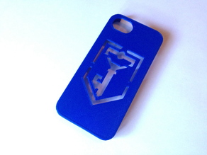 IPhone 5 case Ingress Resistance logo