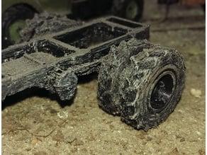 Dumper wheel tyres