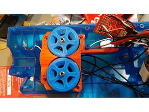 Nerf Swordfish (UltraSword) Brushless Motor Cage & Wheels (Gen 4)