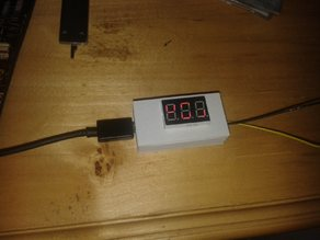 case for TP4056 Li-Ion charger with voltmeter