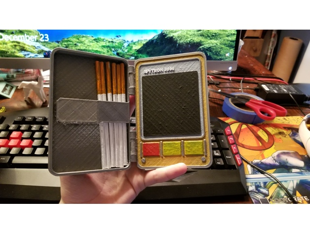Spy Cigarette Case Team Fortress 2 By Sexycowleg Thingiverse