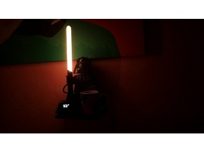 LEGO Vader fights ALS