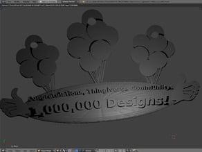 1,000,000th Design!