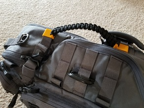 Paracord handle  on Molle straps Clip