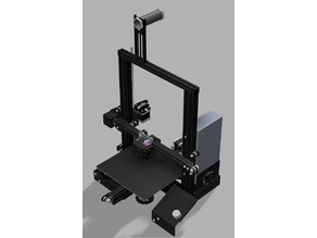 Ender 3DP (Printable Frame and Mounts)