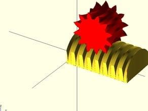 Acme Screw Rack & Pinion or Worm Gear