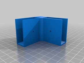 My Customized mounting bracket modules for shelving system