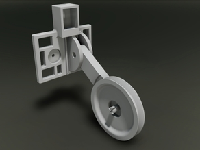 Ultimaker 2 Filament Guide Final (with cleaner/oiler)