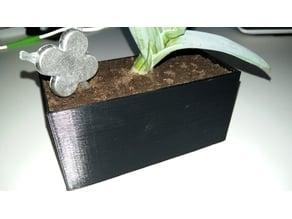 Pot de Fleur Rectangle / Rectangular Flower Pot