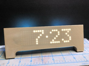 Geekcreit DS3231 Multifunction LED Matrix Clock Kit Case