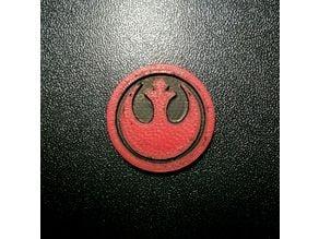 Rebel Alliance Shopping Cart Chip/Coin