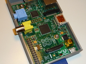 Raspberry Pi Case with Board Mouting Holes
