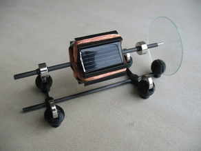 Tiny Mendocino solar motor