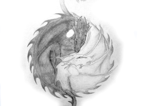 Yin Yang Sleeping Dragons