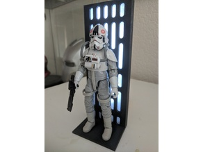star wars display stand for black series Death Star background