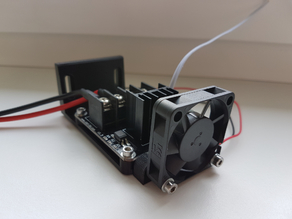 External Heated Bed Mosfet module mount (HA210N06)