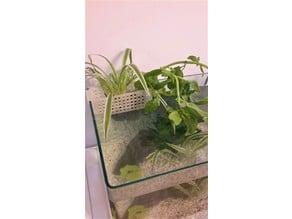 Aquarium plant basket