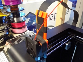 Zortrax M200 extruder cable + filament holder