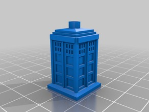 TARDIS Blind Cord Pull