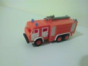 Russian Fire Truck - KamAZ 1:87 (H0 scale)
