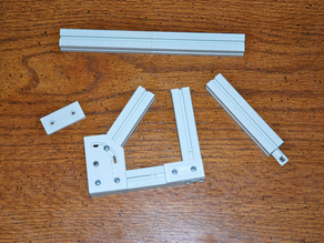 20mm Plastic T-Slot Extrusion (Out Dated)