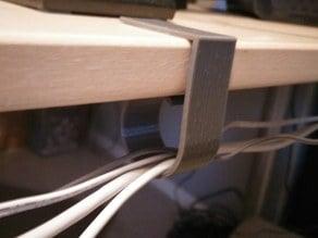 Desk clip / Cable Management