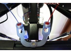 Filament guide for Atom 2.5 EX 3DP